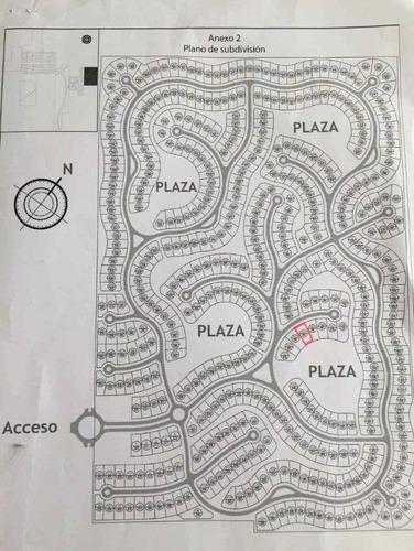 lote con excelente ubicación - fondo a plaza interna