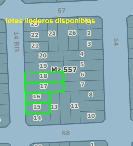 lote- con facilidades - código 119