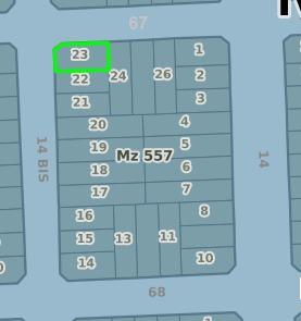 lote- con facilidades - código 123