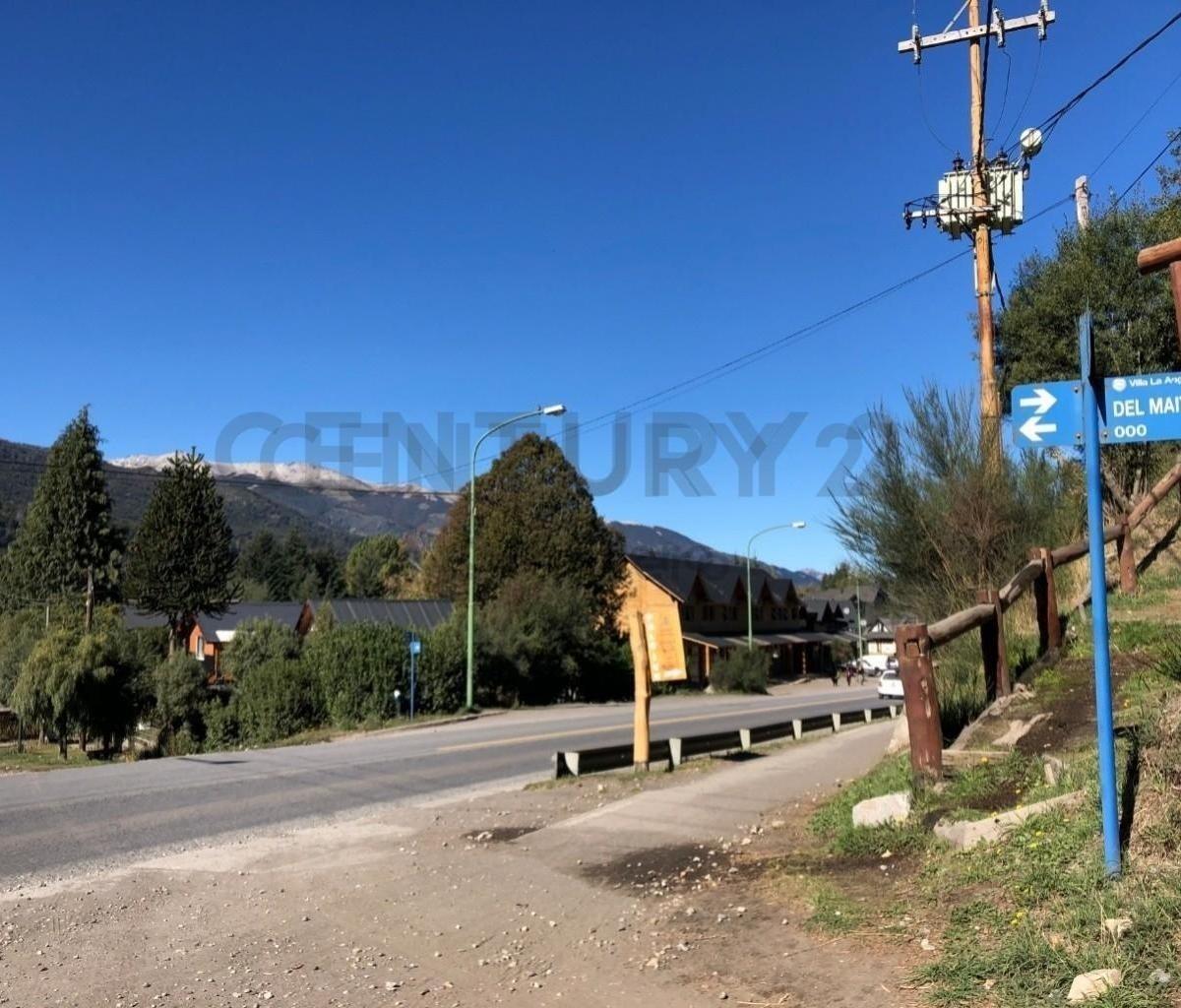 lote con planos aprobados 6 cabañas 70m2, zona centro, villa la angostura.