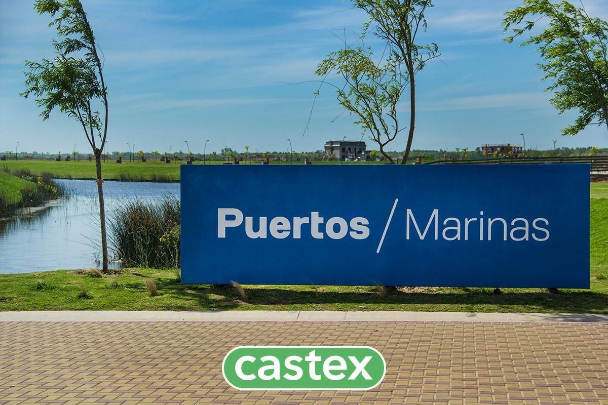lote con salida al lago central en marinas, puertos/