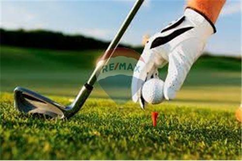 lote con vista a cancha de golf barrio el canton