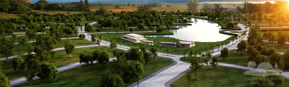 lote con vista al lago, en lagos de canning 1