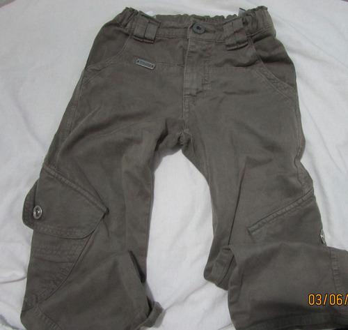 lote contendo 3 calças menino tam 4 tigor t tigre e levis