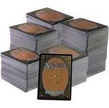 lote contendo 500 cartas de magic - português e inglês