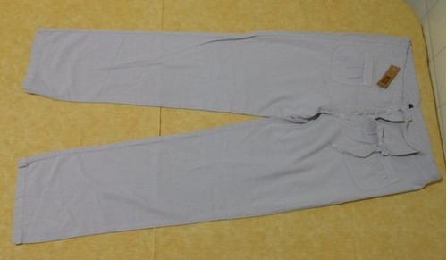 lote dama pantalon casual y musculosas en talle medium