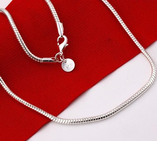 lote de 1 cadenas de plata 925 -el mejor precio de mexico -