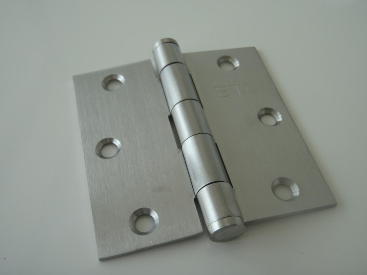 lote de 10 bisagras de acero inoxidable puertas vv4
