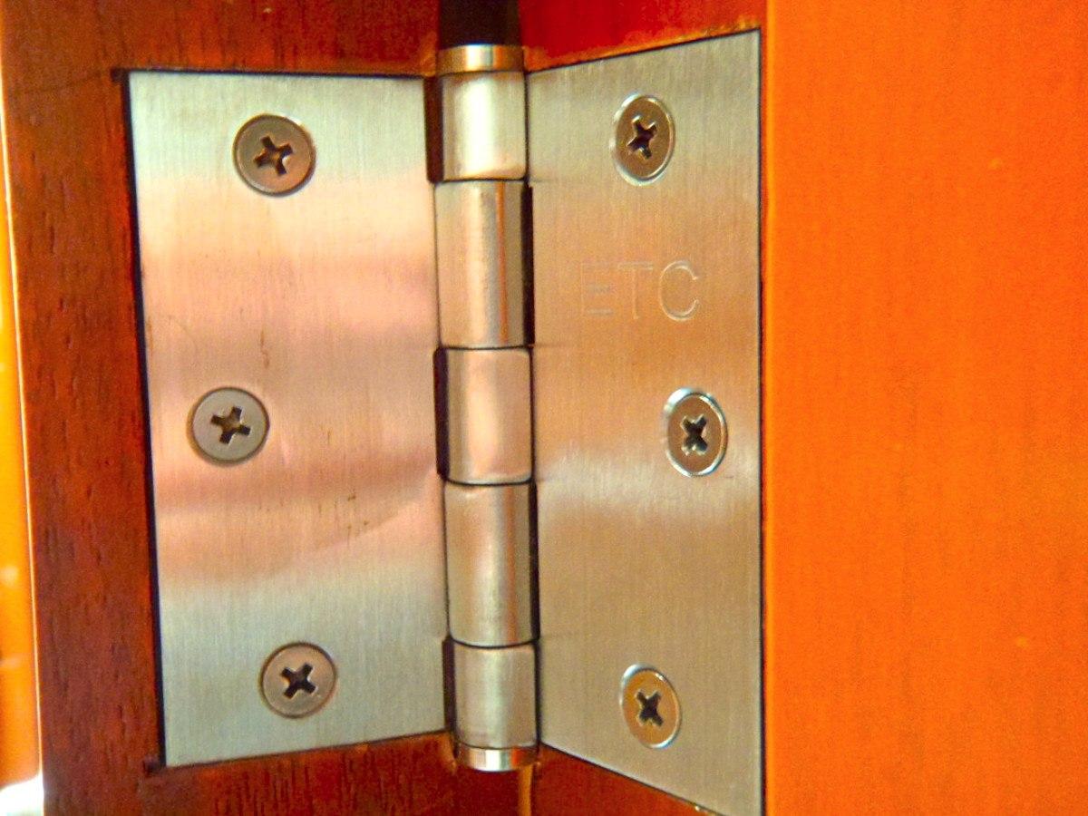 Lote de 10 bisagras de acero inoxidable puertas vv4 - Bisagra de puerta ...