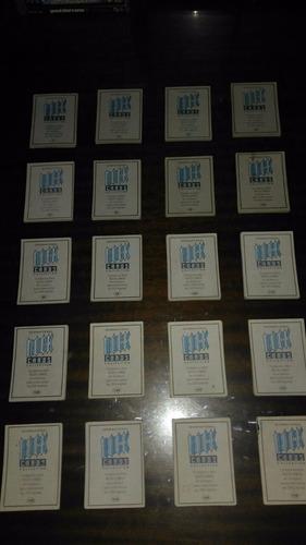 lote de 10 cartas  international rock cards collection  1992