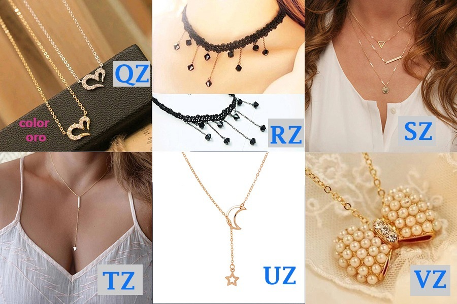 a3f38818052a Lote De 10 Collares Para Dama Vintage Moda Oferta Mayoreo -   199.00 ...