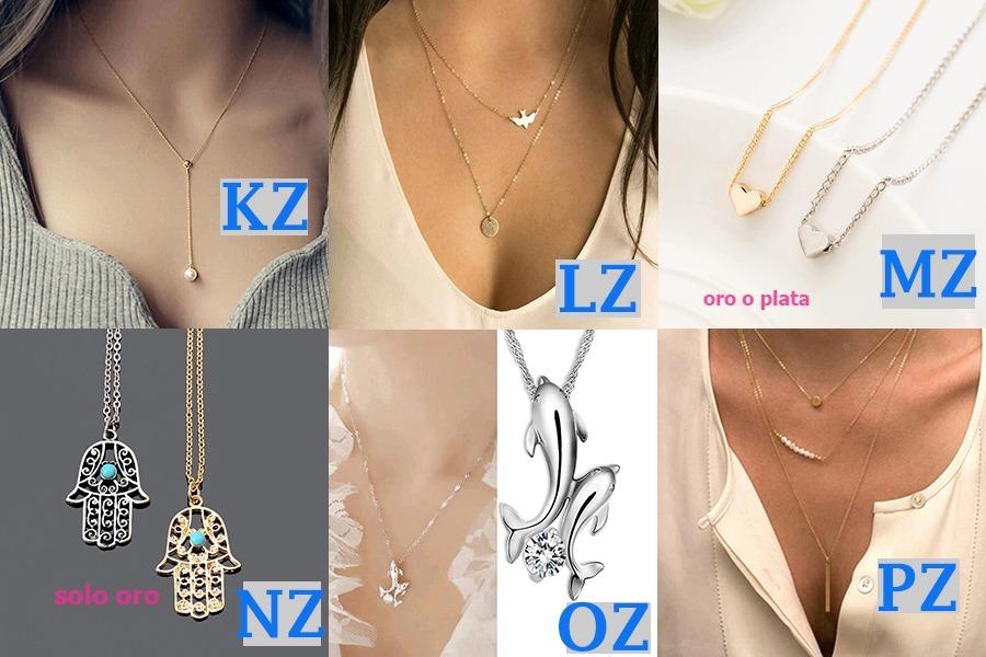 a810631db3c6 Lote De 10 Collares Para Dama Vintage Moda Oferta Mayoreo -   199.00 ...