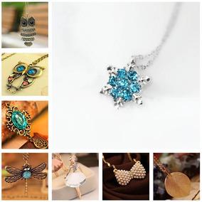 f0144bb98a9f Collares De Moda Vintage Bonitos - Joyas y Relojes en Mercado Libre México