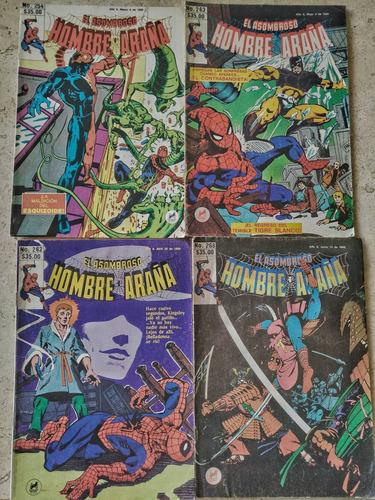 lote de 10 comics el asombroso hombre araña