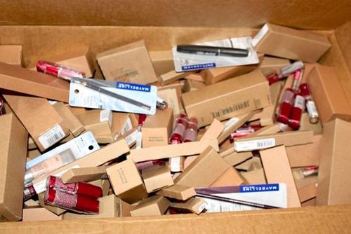 lote de 10 cosmeticos maybelline, loreal, c girl, etc
