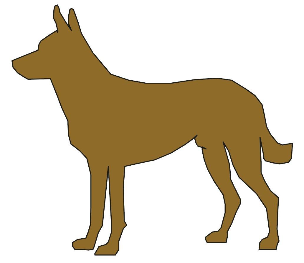 Único Galleta El Perro Para Colorear Elaboración - Dibujos Para ...