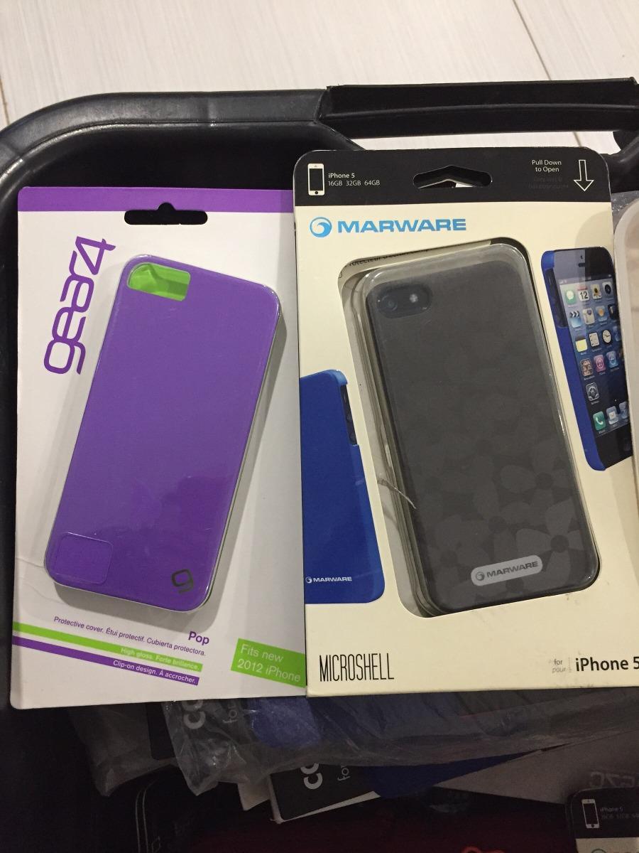 8b92f5ce064 Lote De 10 Fundas Para iPhone 5 Nuevas - $ 600.00 en Mercado Libre