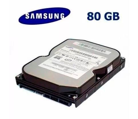 lote de 10 hds sata 80gb - samsung - produtos testados 100%