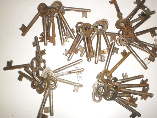 lote de 10 llaves antiguas