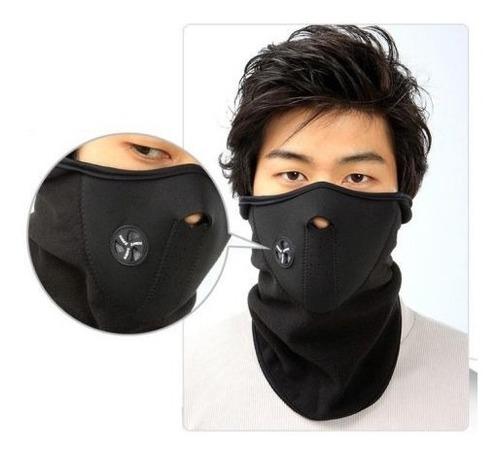 lote de 10 mascaras neopreno termica deportiva motociclista