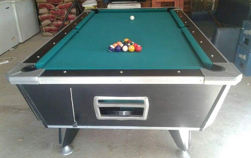 lote de 10 mesas de pool y 3 metegoles
