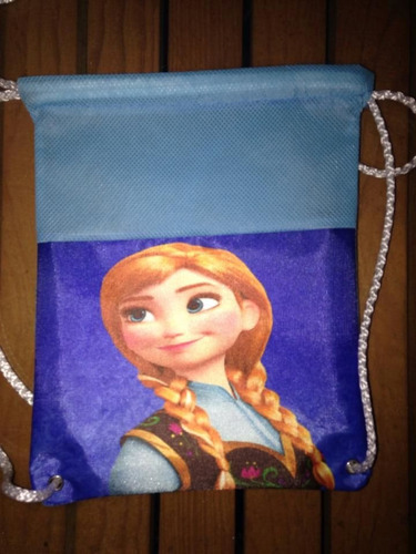 lote de 10 mochilas bolsas dulceras frozen