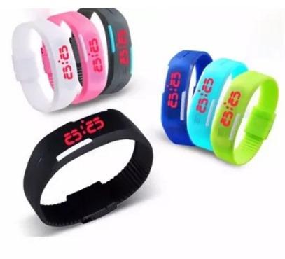 lote de 10 reloj led touch mujer hombre digital envío gratis