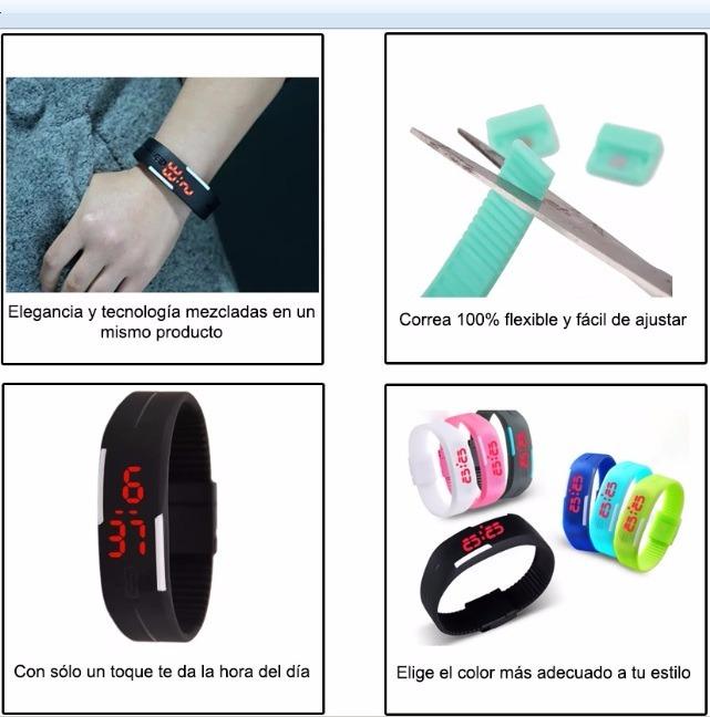 4f3eb5a56b20 Lote De 10 Reloj Led Touch Mujer Hombre Digital Envío Gratis ...