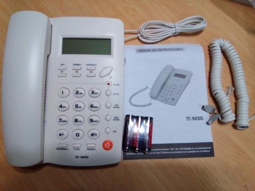 lote de 10 teléfonos de escritorio homedesk tc-9200