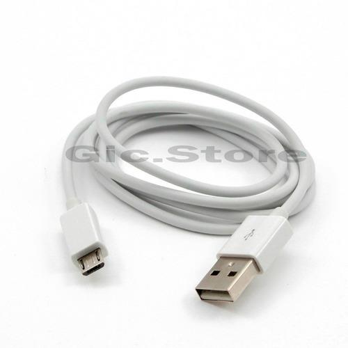 lote de 100 cables micro usb v8 alta calidad  android