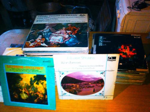 lote de 100 discos de vinilo musica clasica/opera