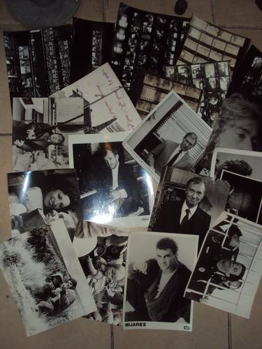 lote de 100 fotografías - cine, artistas y relativos
