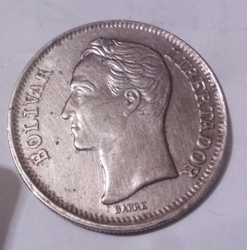 lote de 100 monedas de 1 bolívar del año 1989 y 1990