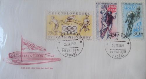 lote de 100 sobres primer día de emisión de checoslovaquia