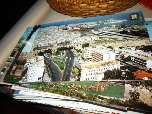 lote de 100  trjetas postales de paisajes, paises, ciudades