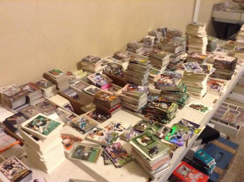 lote de 1000 tarjetas de la nfl