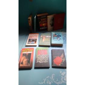 Lote De 11 Livros (capa Dura). James Clavell. Marguerite Dur