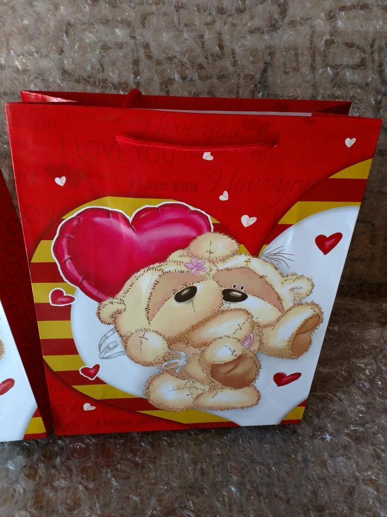 Valentin Febrero Regalo San 14 De Lote 12 Bolsas Ybfg76yIv