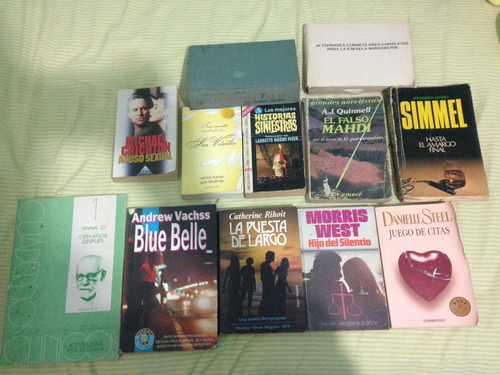 lote de 12 libros varios