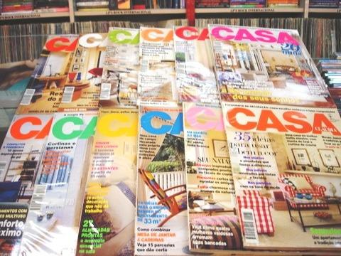 lote de 12 revistas casa claudia - ano 1997 completo