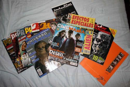 lote de 12 revistas de cine