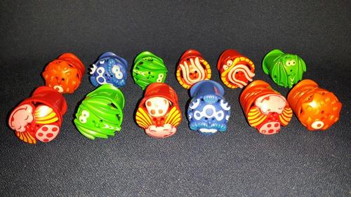 lote de 12 trompos juguetes niños o sorpresitas