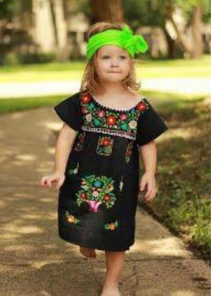 07260fa30c ... vestidos bordados mexicanos de niña. Cargando zoom.