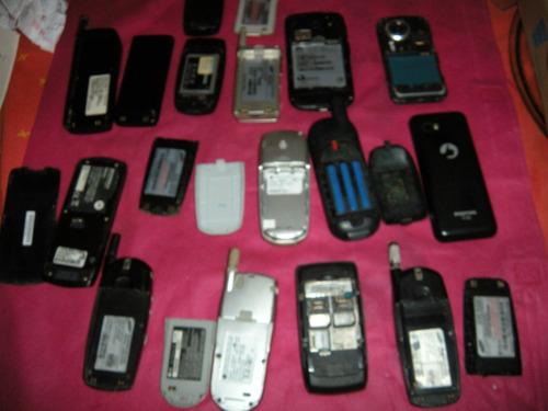 lote de 13 celulares, para retirada de peça