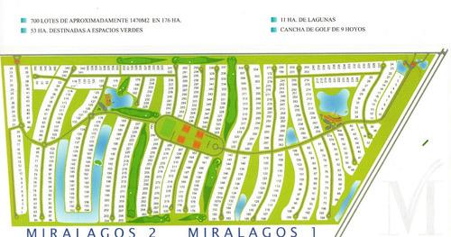 lote de 1403 m2 - barrio miralagos i