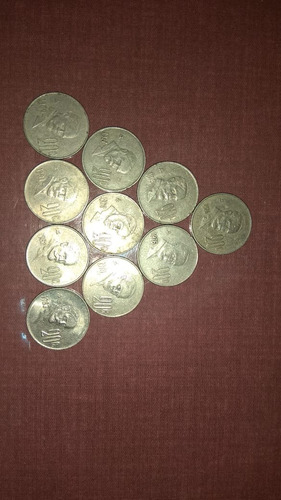 lote de 150 monedas de 20 centavos 1974-1983