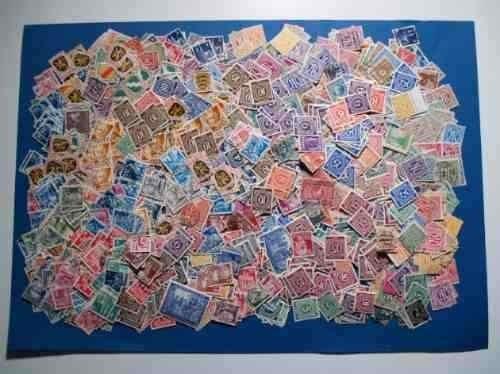 lote de 1.500 estampillas de alemania. entre 1.946 y 1.949