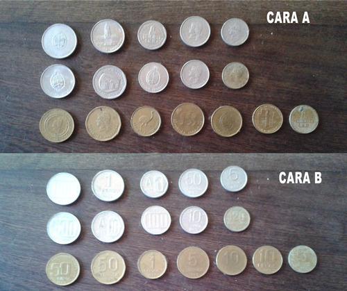 lote de 17 monedas argentinas antiguas