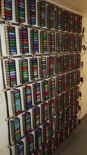 lote de 18650 baterias li-ion 100 células para de e-bike