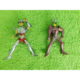 Lote De 2 Bonecos Miniaturas Cavaleiros Zodíaco Seiya E Shun